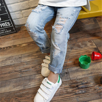 Children Ripped Hole Jeans Pants 2020 5