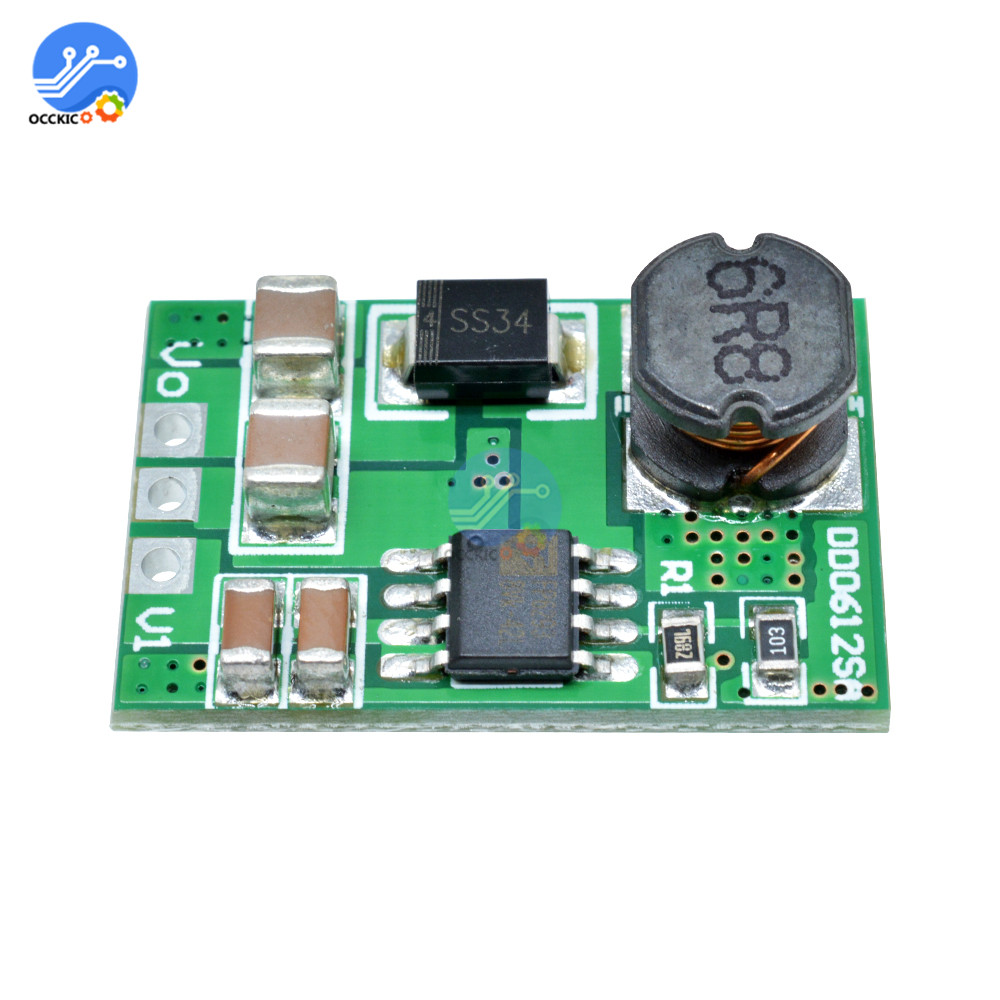 3.5A DC-DC Step-up Boost Voltage Converter Module 3V 3.3V 3.7V To 5V 6V 9V 12V For 18650 Battery Charging BMS