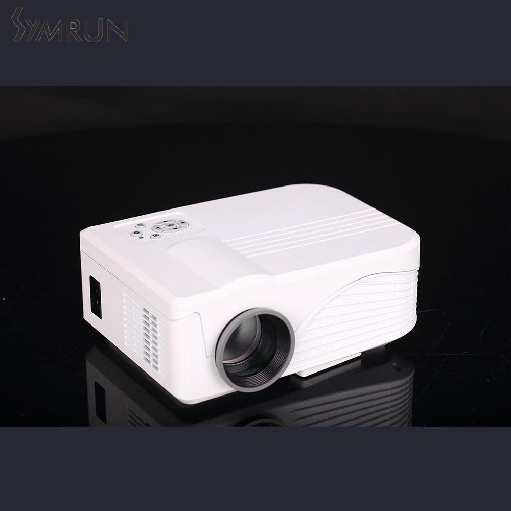 Image Size LED Lamp with AV/Audio /HDMI / VGA / USB 2.0 / TF Card Slot X9 LCD Projector 1000LM 800 x 480 Pixels 34-130 inch