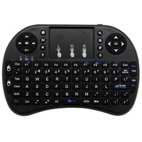 Mini i8 Zdalnego QWERTY Klawiatura Angielski Air Fly Mouse Wireless Air Pilot do TV Box