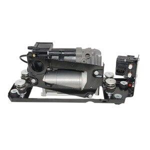 Image 2 - Bomba do compressor da suspensão do ar ap03 com bloco de válvula + 2 * mola de ar para bmw série 5 7 f01 f02 f04 f07 gt f11 37206784137
