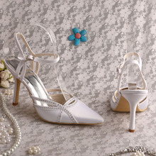 2353296744 Buy white satin shoes and get free shipping on AliExpress.com