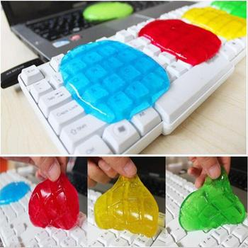 Keyboard Cleaning Compound Gel Transparent Cleaner Keyboard Magic Cyber Laptop Cleaning Tool Kit Spo...