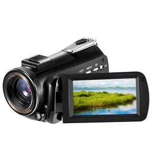 Image 2 - プロ 4 3k フル hd wifi ナイトショットビデオカメラビデオカメラ 3.1 タッチスクリーン内蔵マイク屋外旅行使用