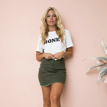 Cotton Casual Funny T Shirts for Women