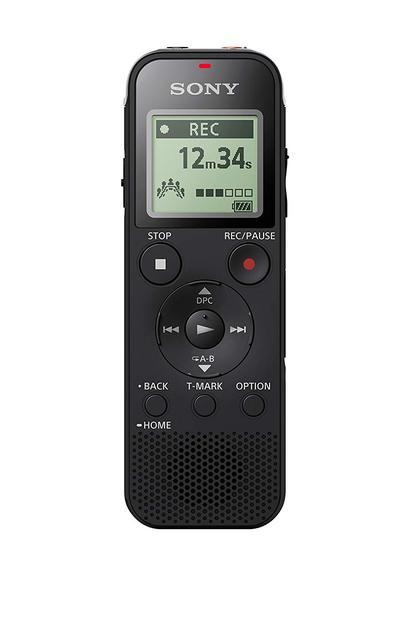 ใหม่ Sony ICD PX470 สเตอริโอเครื่องบันทึกเสียงดิจิตอล USB เครื่องบันทึกเสียง