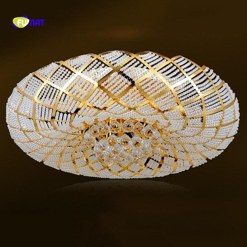 FUMAT Crystal K9 Bird Nest Design Stainess Steel LED Crystal Balls Ceiling Lamp Luxury Creative Beautiful Lustres Metal Lighting