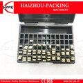 HZPK буква для DY-8  ручная цветная лента  набор для принтера  номер/английский/пунктуационный алфавит  буквенные шрифты  кодирующая машина