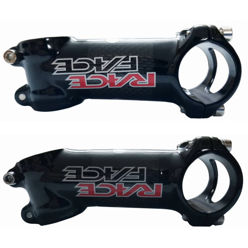 RACE FACE MTB Road Bike Stem 3K Carbon Cover Aluminum 6//17 degree Bicycle Stems