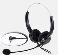 2 5mm Plug Lightweight Headphone With MIC Microphone Call Center Headset Anti Noise Earphone For Home