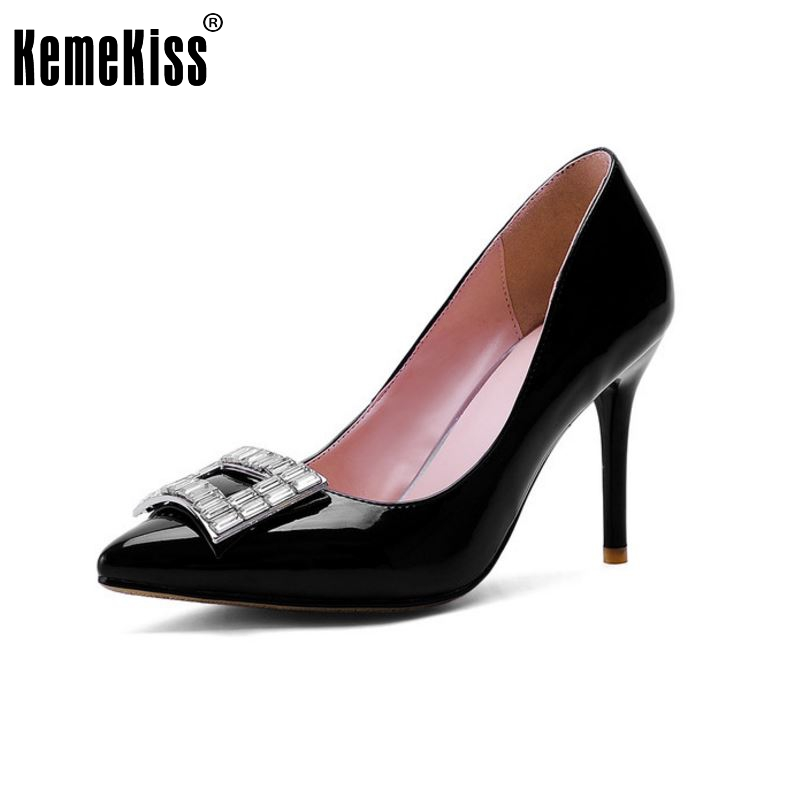 ФОТО women high heel office shoes escarpin sexy brand quality stiletto fashion heeled pumps heels shoes size 33-42 P23124