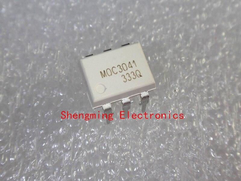 50pcs moc3041 moc3041m dip 6 optocoupler
