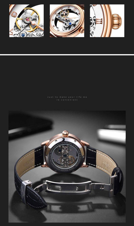 HTB1cnAUc3KG3KVjSZFLq6yMvXXaI GUANQIN 2019 men watches top brand luxury Automatic Luminous clock men Tourbillon waterproof gold Mechanical relogio masculino