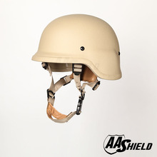 AA Shield Ballistic PASGT M88 Tactical Kevlar Helmet  Color TAN Bulletproof Aramid Safety NIJ Level IIIA  Military Army