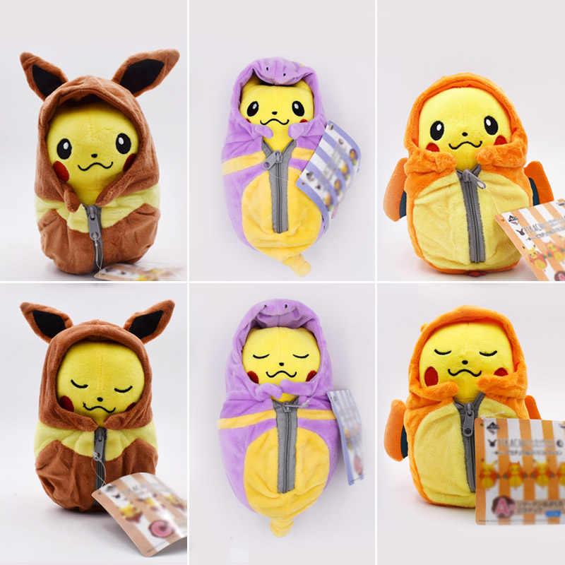 Christmas Eevee.Pikachu Plush Toys Dolls Cosplay Charizard Ekans Eevee