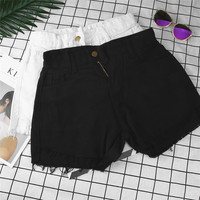 2017 European And American BF Summer Wind Female Jeans Tassel Loose Casual Shorts Women Worn Loose
