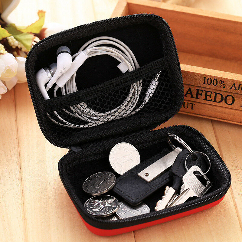 Image 5 - EDC Case Storage Bag Pouch Box for SD TF Card Earphones Headphones Headset MINI-in Storage Boxes & Bins from Home & Garden
