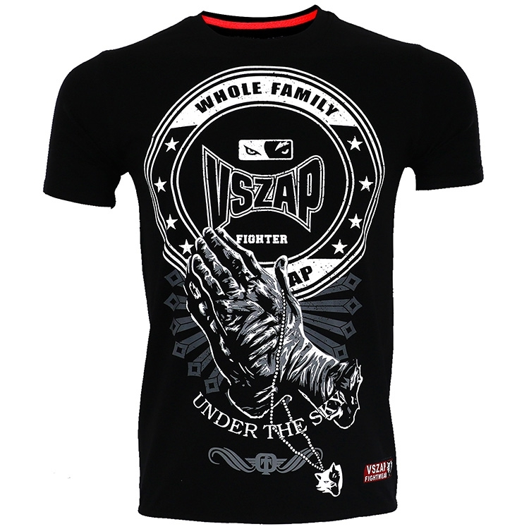 Vszap Wrestling Sanda Boxing Mma T-shirt And Wushu Sports Fitness Muay Thai T-shirt For Men
