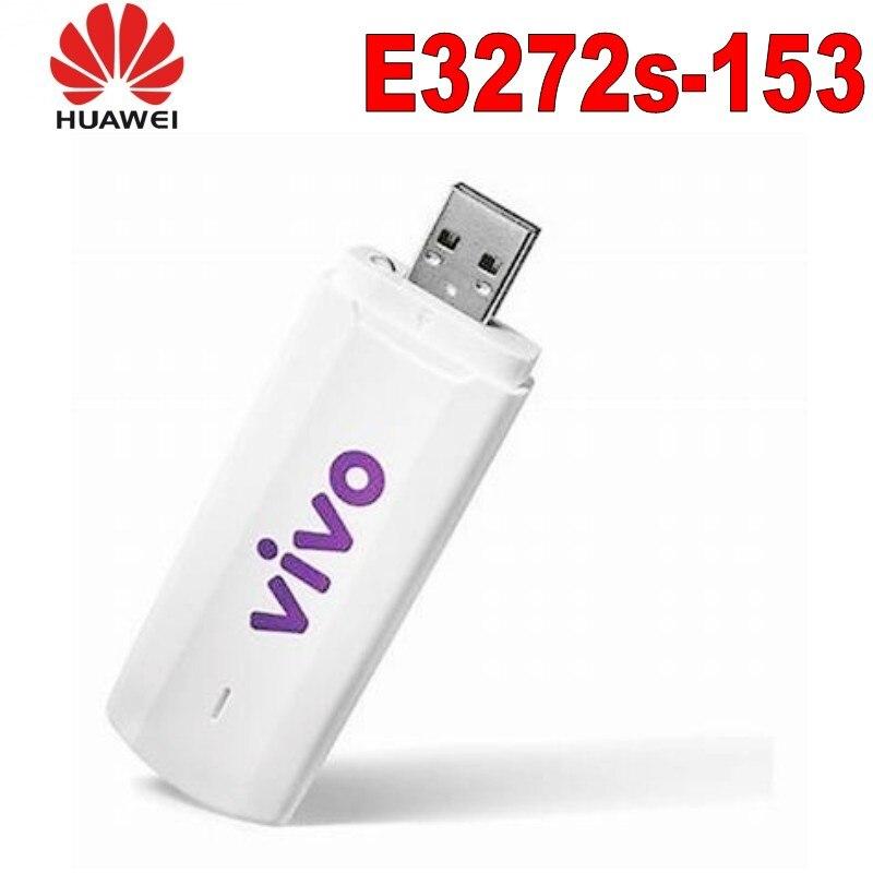 Lot de 10 pièces Huawei Déverrouiller 4g modem universel USB Dongle E3272s-153 LTE avec 2 pièces 4g antenne
