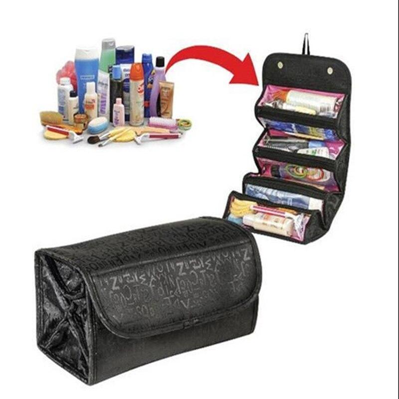 2017 Women Waterproof font b Makeup b font Bag Cosmetic Bag Box Lady kit Travel Bag