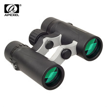 APEXEL 8x25 Waterproof Binoculars HD BAK4 Prism telescope Zoom for World Cup Outdoor bird watching Camping Hiking Travel Sports(China)