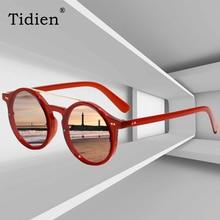 Tidien Vintage Street Round Metal Sunglasses Women Plastic Fashion Travel Beach Spectacles for  X1340