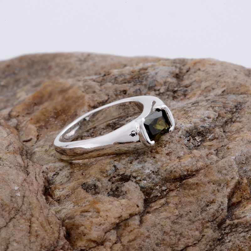 เงาสีดำโค้งมนเงินชุบแหวนขายส่ง925เครื่องประดับแฟชั่นแหวนเงิน925sterling-silver OXTOHZCB