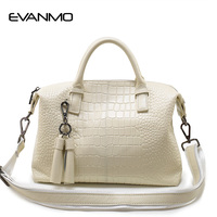 2017 New First Layer Of Leather Handbag Ladies Real Leather Bags High Quality Large Capacity Female