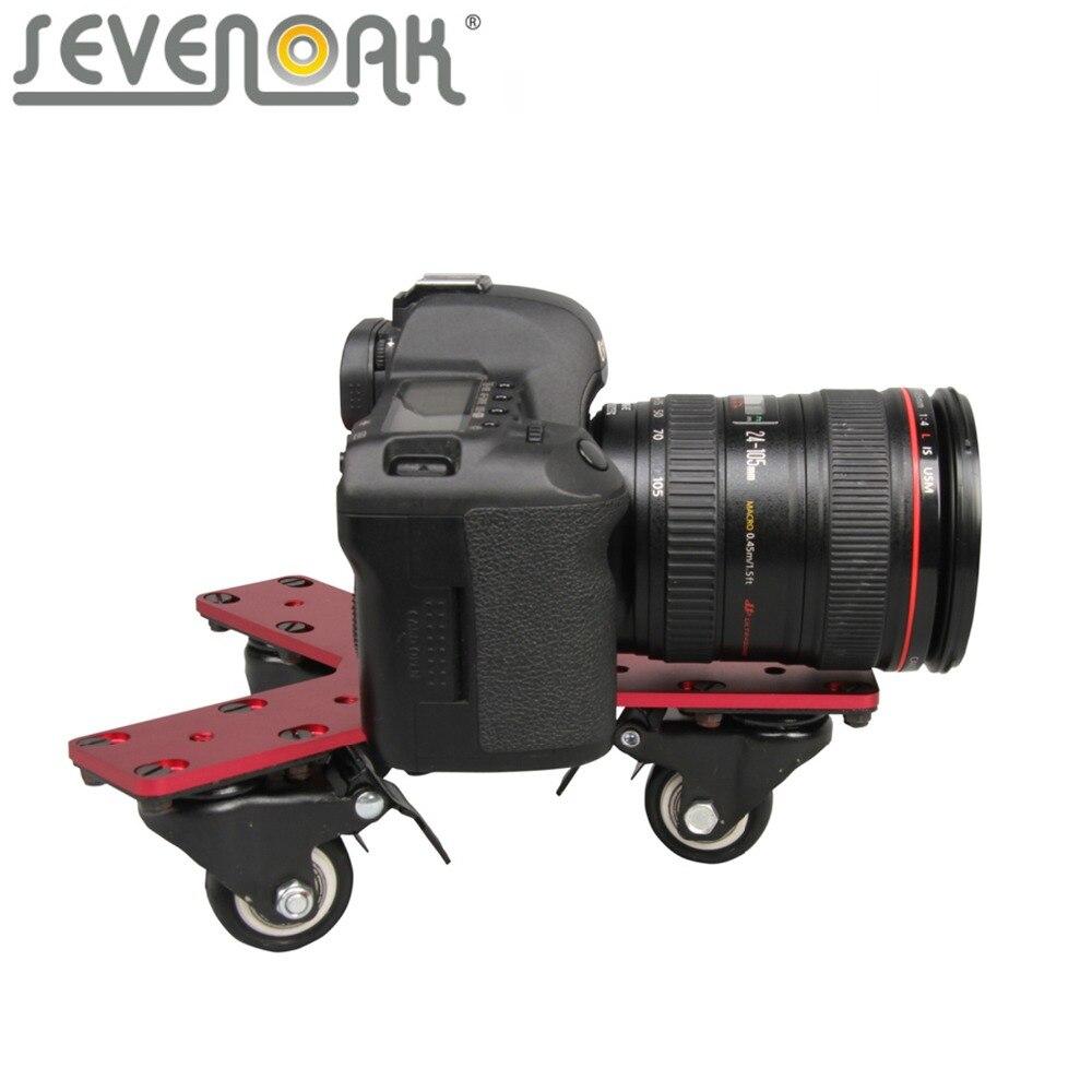 Sevenoak SK-DW02 Cam Dolly Track Slider for Canon 5D 5d Mark II Nikon D3100 D90 D600 Sony Gopro DSLRs Mini Camcorders DVs 23 sevenoak sk ls60 wholesale mini camera video slider track dolly for gopro canon nikon sigma sony dv