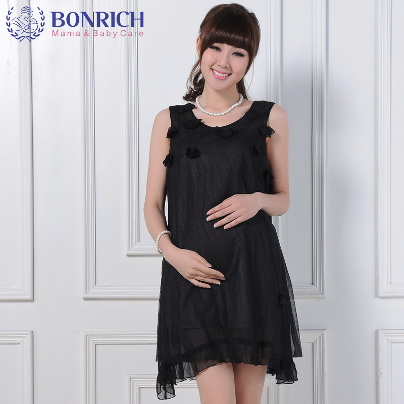 2017 Silver Anti-Radiation Protective Tulle Dress flora appliques mesh silk Dress and silver Fiber Strap dress twinset  BF32027 silver fiber women clearance inventory radiation proof vest tops easing anti radiation maternity dresses rfid block apparel