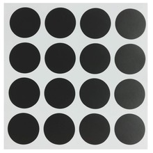 1 inch Round Chalkboard Labels - Reusable Dot Pantry and Storage Stickers for Jars, Spice,Parties, Craft 96 Pieces