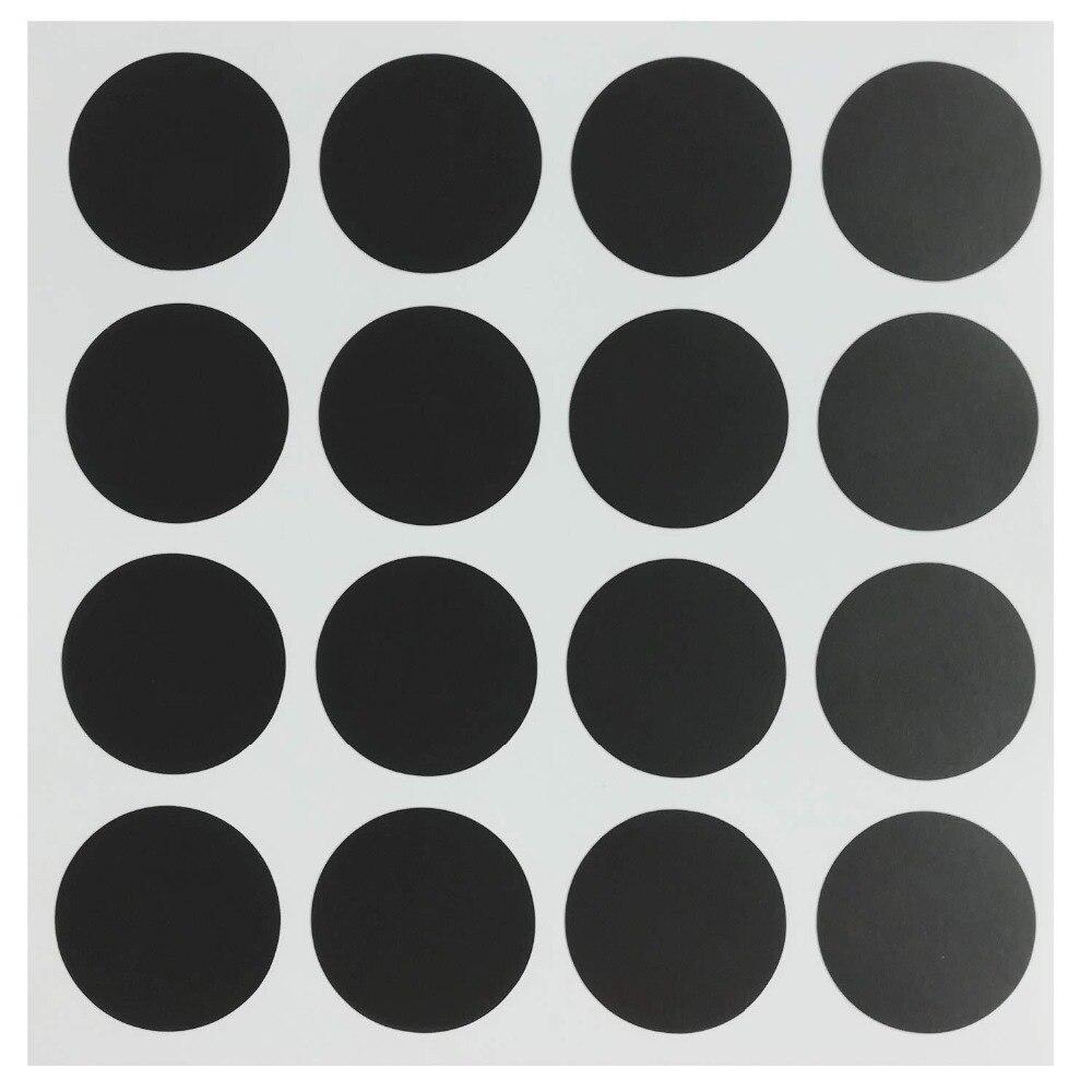"""1 """"zoll Runde Tafel Etiketten-reusable Tafel Dot Speisekammer Und Lagerung Aufkleber Für Gläser, Gewürz, Parteien, Handwerk 96 Stücke Auswahlmaterialien"""