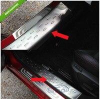 Sports Car Door Sill Scuff Plate Guard Sills For 2014 Mazda 6 ATENZA M6