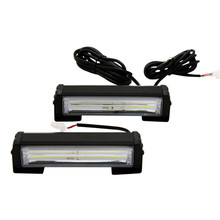 Фотография 2pcs/lot High Power 32w Car COB Warning Light External Emegency Strobe Light Car Styling Warning Lamp