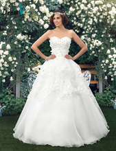 Plus Size Wedding Dress Dazzling Beaded Sweetheart Floor Length Floral China Wedding Dresses 11184803