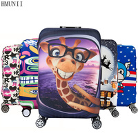HMUNII Elastic Luggage Protective Cover For 19 32 Inch Trolley Suitcase Protect Dust Bag Case Child
