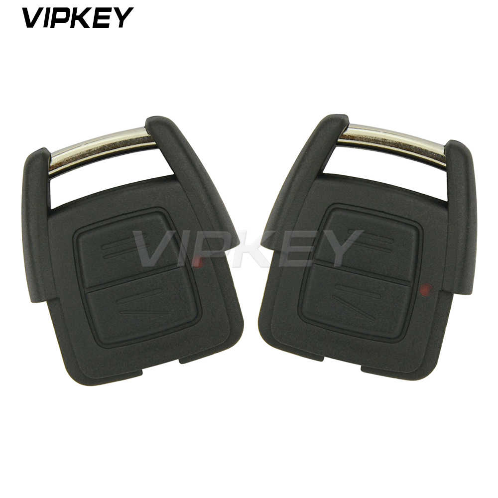Télécommande 2 pièces voiture télécommande clé fob 93176615 pour Opel Vauxhall Holden Astra G Zafira A 2000 2001 2002 2003 2004 2 bouton 433Mhz
