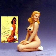 Erotic resin figure