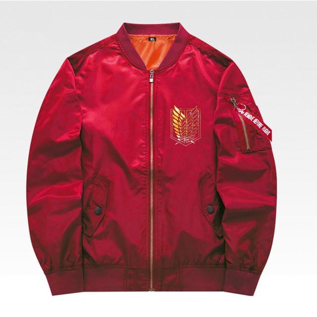 Attack On Titan Men Coats Spring Baseball Windbreaker Jackets Cosplay Costume