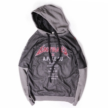 Teenagers qiu dong hooded head set loose tide leisure men's and women's top fleece coat sweethearts outfit hoodie of big yards