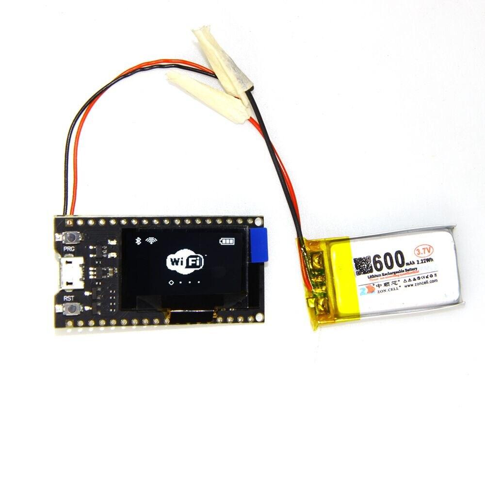 4 M octets (32 M bit) Pro ESP32 OLED V2 0 TTGO & pour Arduino ESP32 OLED  WiFi Modules + Bluetooth Double ESP-32 ESP8266 et OLED