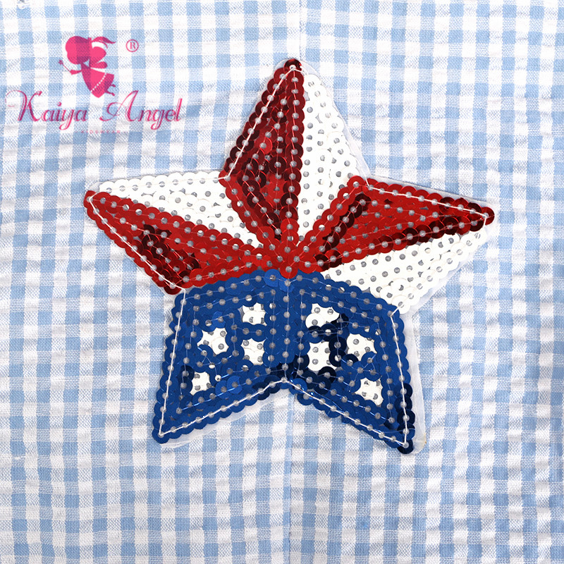 0fd20d458f0e Kaiya Angel 4th Of July 2018 Toddler Girl Boy Summer Ruffle Clothes  American Flag Baby Newborn Unisex Romper Factory Wholesale-in Rompers from  Mother   Kids ...