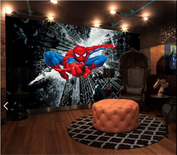 Prime Us 30 0 Custom Children Wallpaper Spider Man 3D Cartoon Murals For Childrens Rooms Living Room Sofa Ktv Backdrop Waterproof Wallpaper In Wallpapers Evergreenethics Interior Chair Design Evergreenethicsorg