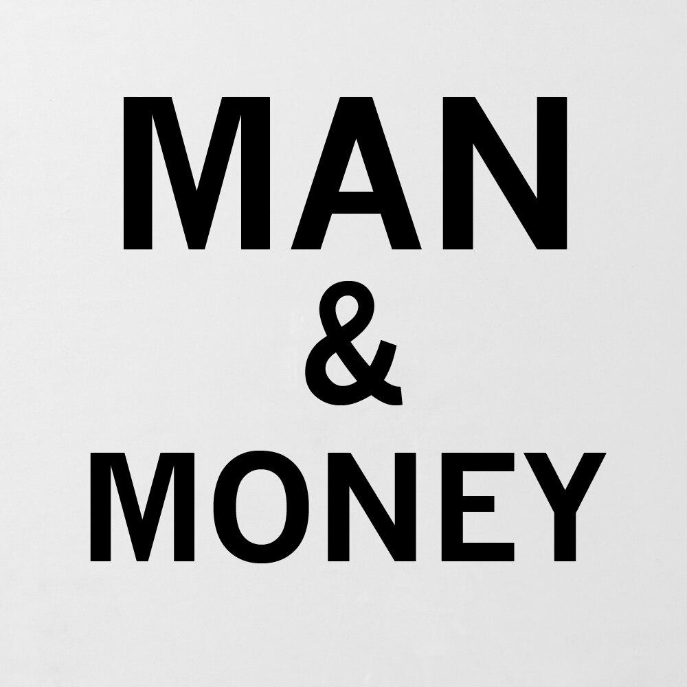 DPARTISAN preventivo e poster Man con i soldi di stampa Della Parete olio pittura picture stampa su tela no frame wall vernice idea creativo