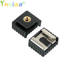 1pcs SC 6 SC6 Cold Hot Shoe Adapter Standard Mount Hotshoe to 1 4 Thread For