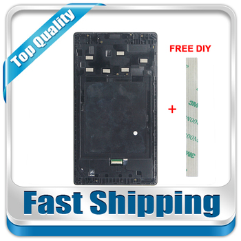 For New Lenovo Tab 2 A7-30 A7-30HC A7-30TC Replacement LCD Display Touch Screen Digitizer with Frame Assembly Free Shipping