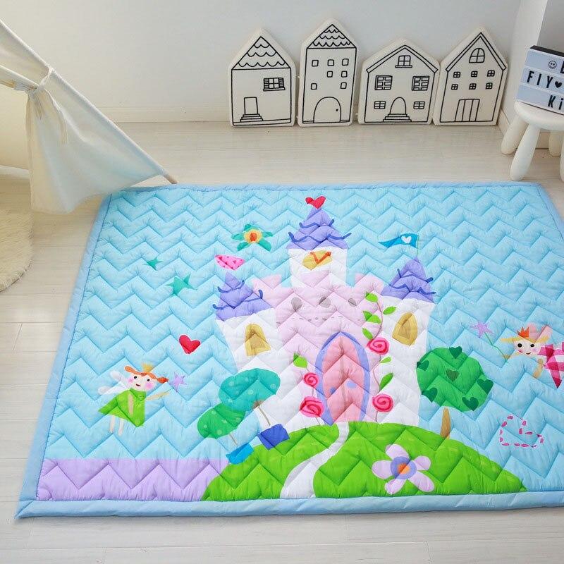 Նորածինների փայլող երեխա խաղալ Mat 3CM - Խաղալիքներ նորածինների համար - Լուսանկար 2