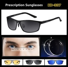 Ophthalmic Polarized Lens Sunglasses Brand Men Design EXIA OPTICAL KD-337 Series