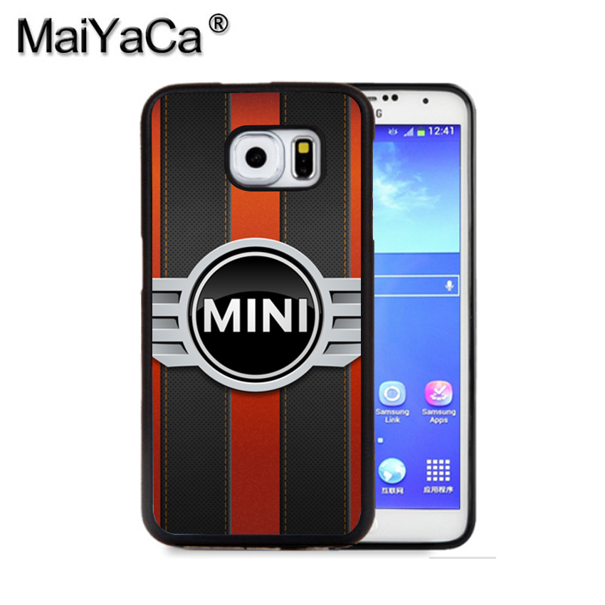 MaiYaCa Mini Cooper Logo 4 Phone Case For Samsung S9 S8 Plus S7 S6 Edge Plus Note 8 7 5 S5 S4 Print Rubber Cases