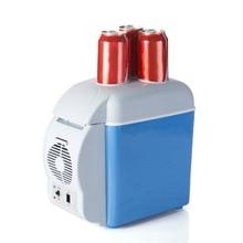 12 В 7.5L Car ating автомобильный холодильник мини электронный холодильник морозильник путешествия двойного назначения